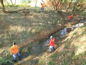 No total, 37 córregos na zona urbana da capital acreana já receberam limpeza (Foto: Divulgação/Prefeitura de Rio Branco)