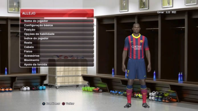Allejo pode vir a reforçar o Barcelona com Messi e Neymar no ataque (Foto: Reprodução / TechTudo)