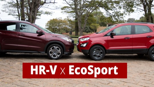 Ford EcoSport x Honda HR-V: comparativo