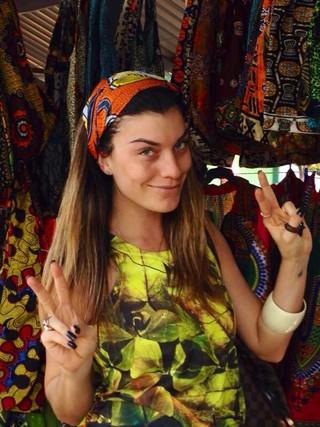 Joana Balaguer mostra sua rotina em Moçambique. (Foto: Arquivo Pessoal)
