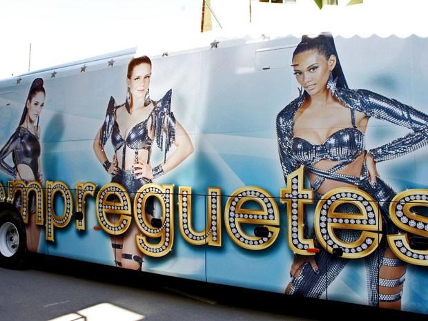 Ônibus das Empreguetes é sucesso (Foto: Cheias de Charme / TV Globo)
