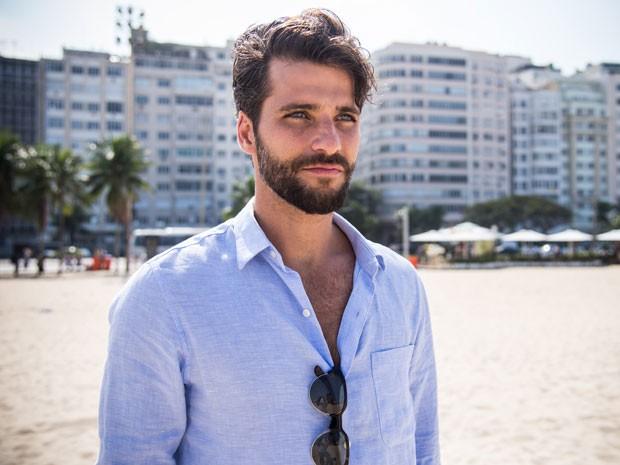 Bruno Gagliaso intrepreta Edu: 'Eu conquistei esse personagem' (Foto: Raphael Dias/TV Globo)