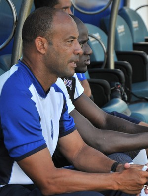 Gabriel Vieira, técnico do Quissamã (Foto: Leandro Fernandes/Divulgação)