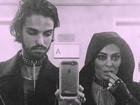 Juliana Paes faz produção caprichada para o Dia das Bruxas