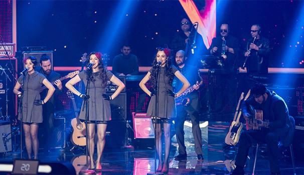 Cluster Sisters (Foto: Camila Serejo/TV Globo)