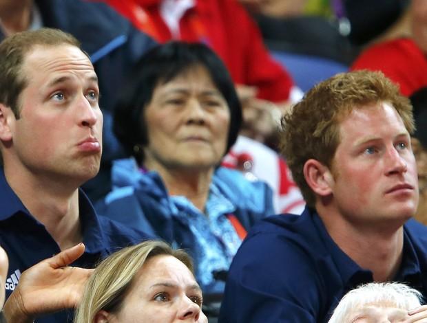 principes harry william inglaterra londres 2012 olimpiadas (Foto: Reuters)
