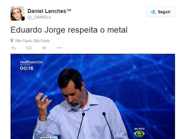 meme - eduardo jorge (Foto: Reprodução)