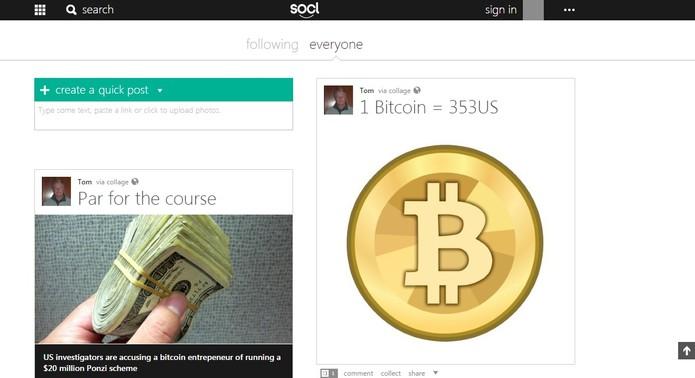 So.cl é uma rede social da Microsoft para estudantes (Foto: Reprodução/So.cl)
