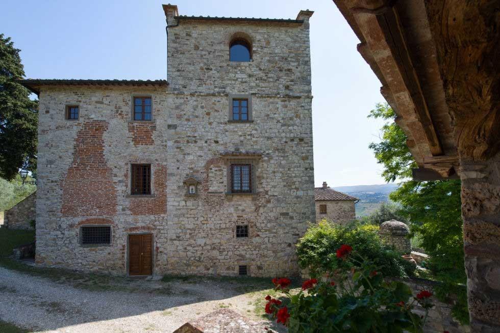 Casa de Michelangelo na Itália (Foto: Reprodução)