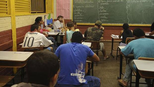 Educação ; ensino médio ; sala de aula ;  (Foto: Agência Brasil/Arquivo)