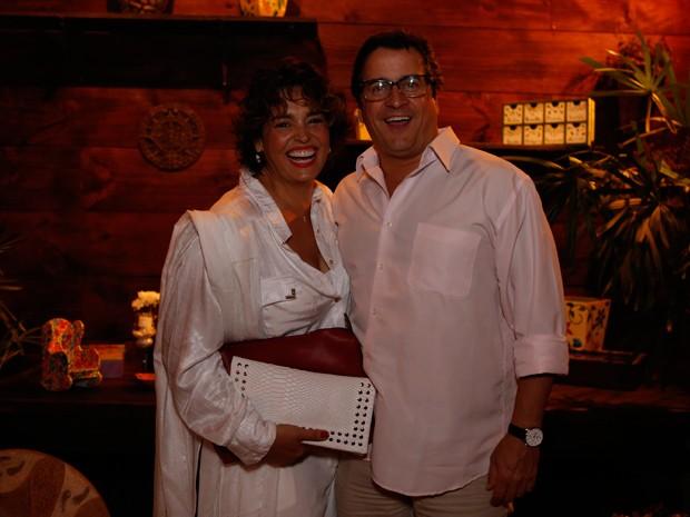 Suzy Rêgo e seu marido Fernando Vieira (Foto: Ellen Soares / Gshow)