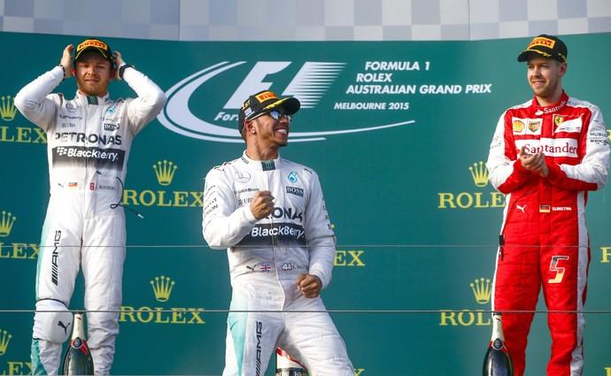 Lewis Hamilton GP da Austrália Fórmula 1 (Foto: EFE / Diego Azubel)
