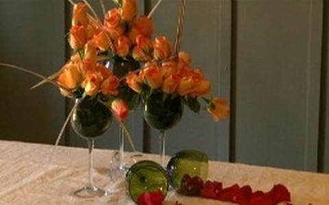 Arranjo de flores na taça: saiba como fazer