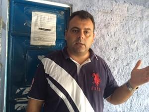 Gerente diz que presos chegam a ficar seis meses na unidade (Foto: Carolina Sanches/G1)