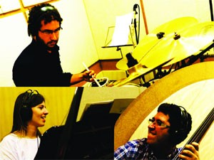 Trio de jazz lança álbum em Campinas (Foto: Divulgação / Ventura)