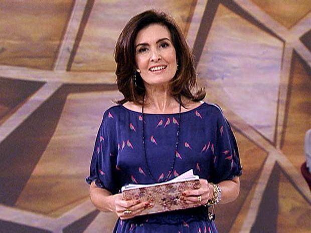 Fátima Bernardes (Foto: Encontro com Fátima Bernardes/ TV Globo)