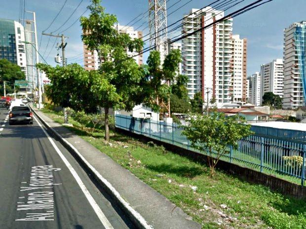 Inmet registrou temperatura nesta segunda (21), em Manaus  (Foto: Sérgio Rodrigues/G1 AM)