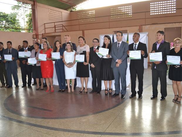 Diplomação, Amapá, eleições municipais 2016, Amapá, (Foto: TRE-AP/Divulgação)