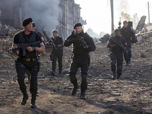 'Os mercenários 3' reúne mais uma vez Stallone, Schwarzenegger e companhia (Foto: Divulgação)