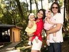 'Viramos crianças de novo', afirmam Natália Guimarães e Leandro