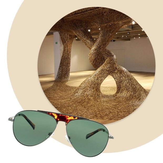 Reinaldo Lourenço apresenta sua primeira coleção de óculos de sol no verão 2018