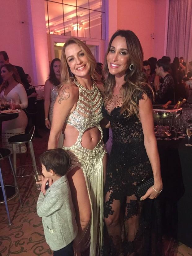 Luana Piovani, Carol Marra e Dom (Foto: Reprodução/Instagram)