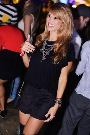 Dany Bananinha em festa no Rio (Foto: Ari Kaye/ Divulgação)