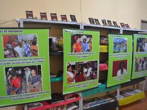 Exposição retrata histórias do Marabaixo, cultura tradicional do Amapá (Foto: Fabiana Figueiredo/G1)