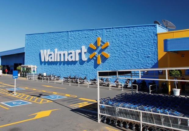 Unidade do Walmart, uma das maiores redes de varejo do Brasil (Foto: Reprodução/Facebook)
