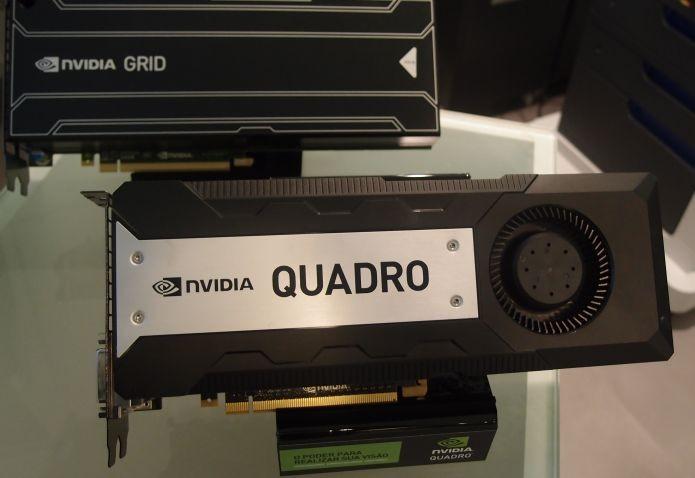 Linha Quadro de GPUs da Nvidia tem seis modelos (Foto: Pedro Zambarda/TechTudo)