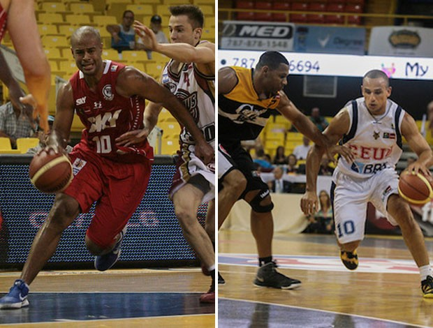 Montagem basquete - Pinheiros Campeão Brasilia (Foto: Samuel Vélez/FIBA Américas )