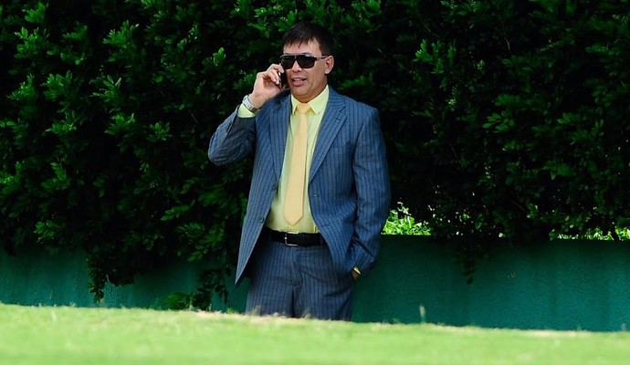 Horley Senna presidente Guarani (Foto: Rodrigo Villalba / Memory Press)