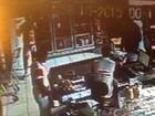 Vídeo mostra ação de assaltante em supermercado de Miguel Leão