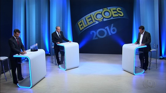 Confira como foi o debate entre os candidatos à Prefeitura de Goiânia