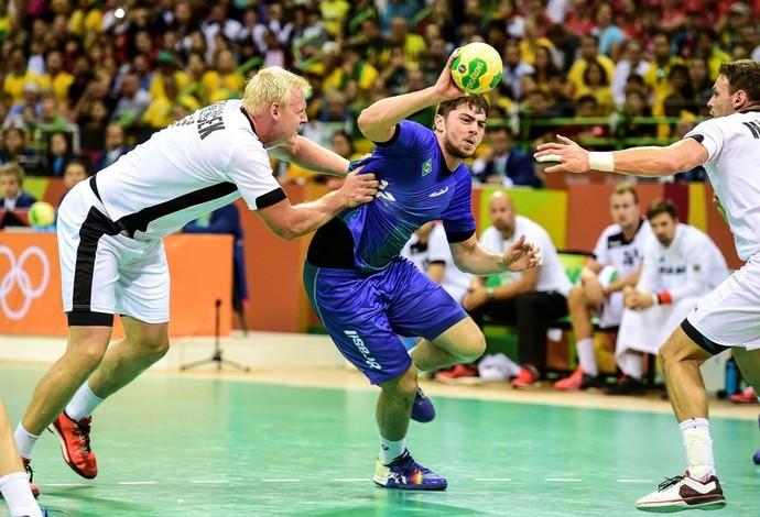 Haniel Langaro disputou a Olimpíada de 2016 com a seleção brasileira (Foto: William Lucas/Photo&Grafia)