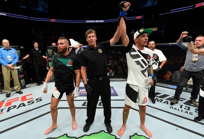 Renato Moicano x Jeremy Stephens UFC Kansas City (Foto: Getty Images)