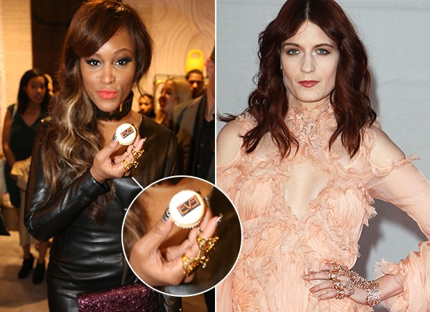 Hand Jewellery - Florence Welch e  Eve (Foto: Agência Getty Images)