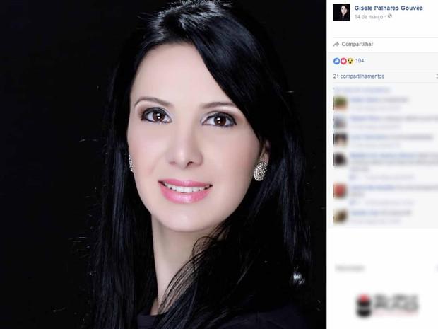 Gisele foi morta durante tentativa de assalto na Linha Vermelha (Foto: Reprodução/Facebook)