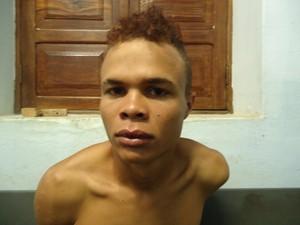 Wesley Rafael foi preso na zona rural de Porteirinha (Foto: Internauta G1)