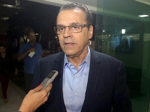 Henrique Eduardo Alves, candidato ao governo do RN pelo PMDB (Foto: Klênyo Galvão/G1)