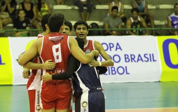 vôlei equipe Manaus supercopa (Foto: Alexandre Arruda/CBV)