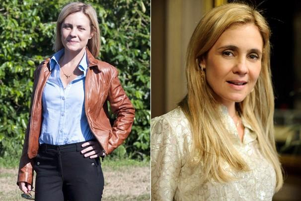 Antes de encarnar a vilá Carminha, em Avenida Brasil (2012), ela foi a herína Júlia, de Morde & Assopra (2011) (Foto: CEDOC Globo)