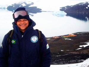 Baiano está entre mortos em incêndio em base na Antártica (Foto: Vinícius Figueiredo/ Arquivo Pessoal)