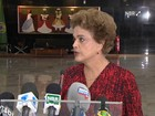Dilma garante Barbosa e Tombini no governo e nega uso de reservas