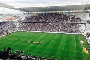 Arena Corinthians x Botafogo (Foto: Diego Ribeiro)