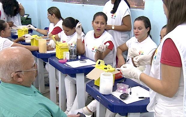 Feira de Saúde é realizada em Porto Velho (Foto: Rondônia TV)