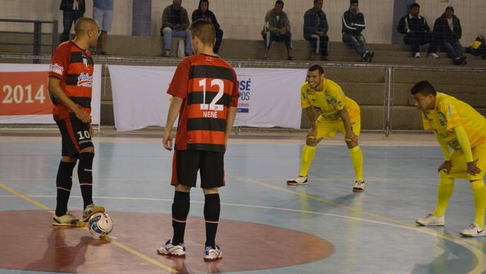 Mogi das Cruzes x São José - Liga Paulista de Futsal - 1º turno (Foto: Bruno Rocha)