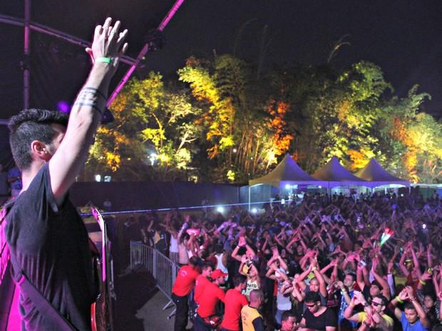 Público lotou décima edição do festival  (Foto: Diego Toledano/ G1 AM)