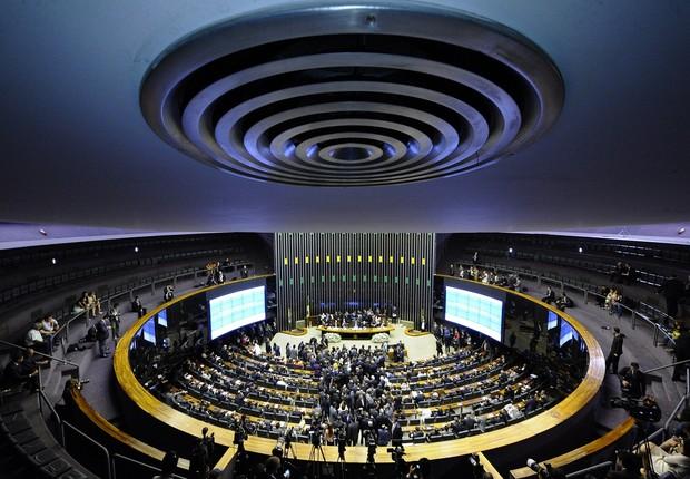 Plenário do Congresso Nacional em Brasília (Foto: Antônio Cruz/Agência Brasil)