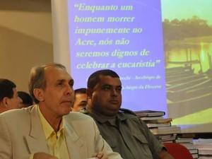 Ex-deputado Hidelbrando Pascoal passou mal na noite desta quarta-feira (10) (Foto: Ascom Tj-AC/Arquivo)